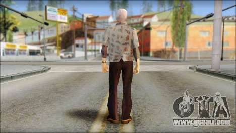 Doc from Back to the Future 1955 for GTA San Andreas second screenshot