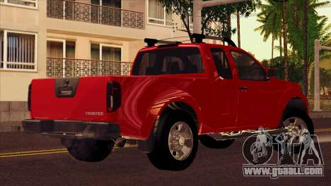 Nissan Frontier 2013 for GTA San Andreas left view