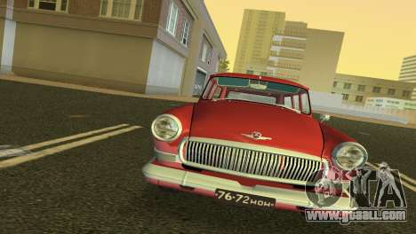 GAS 22 Volga 1965 for GTA Vice City left view