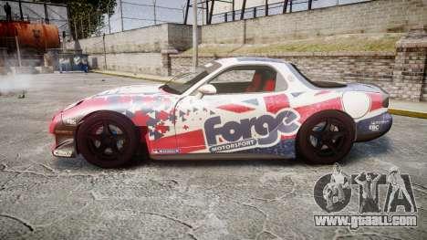 Mazda RX-7 Forge Motorsport for GTA 4 left view