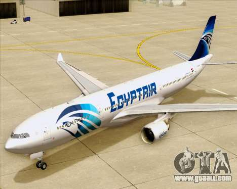 Airbus A330-300 EgyptAir for GTA San Andreas