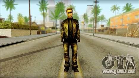 Arnold Shvarzneger for GTA San Andreas