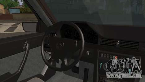 Mercedes-Benz E-Class W124 AMG for GTA San Andreas back left view
