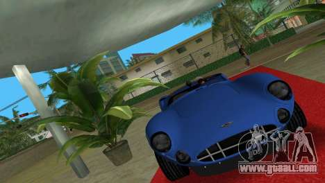 Aston Martin DBR1 for GTA Vice City back left view
