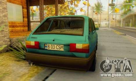 Dacia 1310 Liberta v1.1 for GTA San Andreas back left view