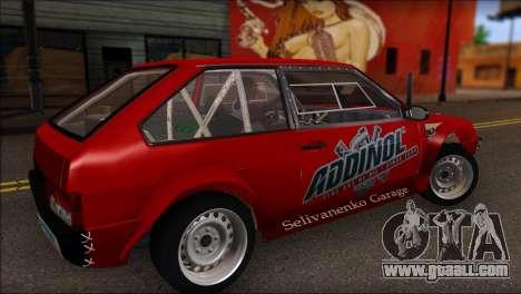 VAZ 2108 Sport for GTA San Andreas left view