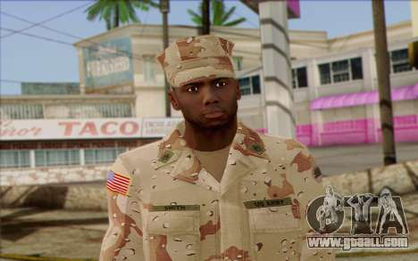 California National Guard	 Skin 2 for GTA San Andreas third screenshot