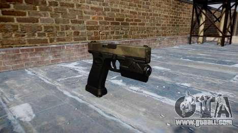 Pistol Glock 20 a tac au for GTA 4