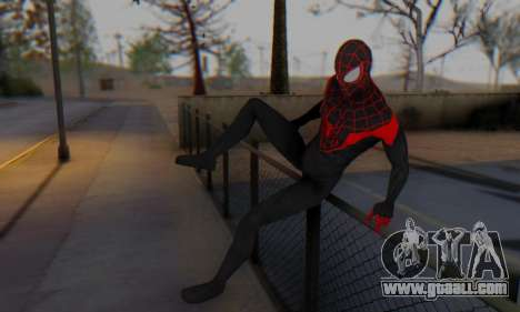 Skin The Amazing Spider Man 2 - New Ultimate for GTA San Andreas fifth screenshot