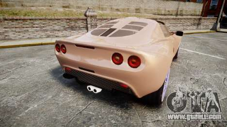 Lotus Exige for GTA 4 back left view