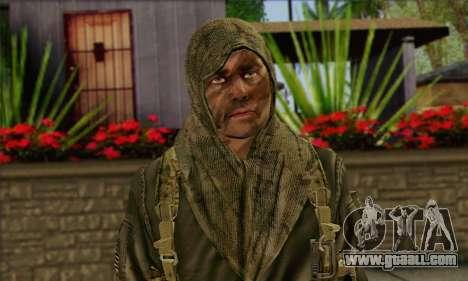 Task Force 141 (CoD: MW 2) Skin 12 for GTA San Andreas third screenshot