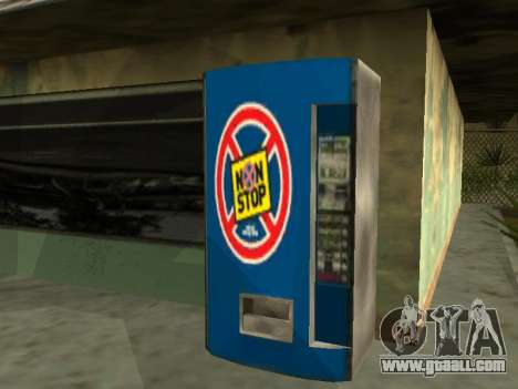 Machine with drink Non Stop from Stalker for GTA San Andreas