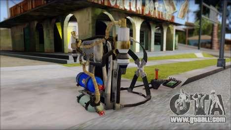 New Jetpack for GTA San Andreas third screenshot