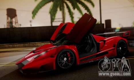 Ferrari Gemballa MIG-U1 for GTA San Andreas right view
