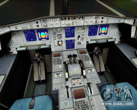 Airbus A340-313 Turkish Airlines for GTA San Andreas engine