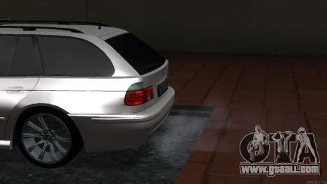 BMW 530d for GTA San Andreas right view