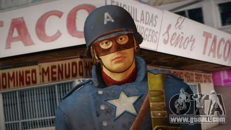 Captain America v2 for GTA San Andreas third screenshot