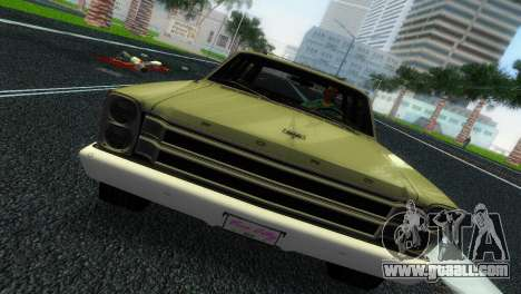 Ford Country Squire for GTA Vice City back view
