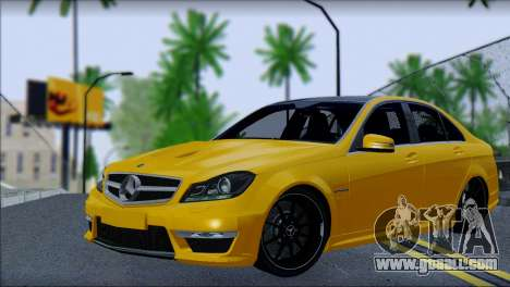 Mercedes-Benz C63 AMG for GTA San Andreas