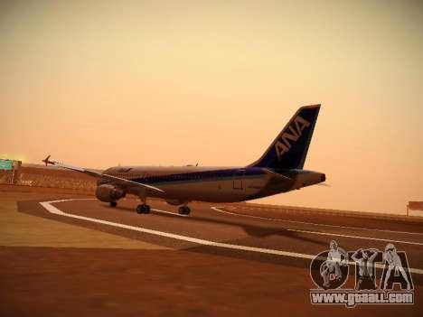 Airbus A320-211 All Nippon Airways for GTA San Andreas right view