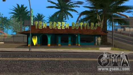 New bar in Ganton for GTA San Andreas fifth screenshot