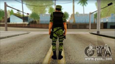 Skin Sedena Secretaria De La Defensa Nacional for GTA San Andreas second screenshot