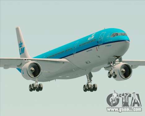 Airbus A330-300 KLM Royal Dutch Airlines for GTA San Andreas