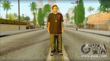 Jimmy De Santa for GTA San Andreas