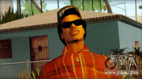 Eazy-E Red Skin v2 for GTA San Andreas third screenshot