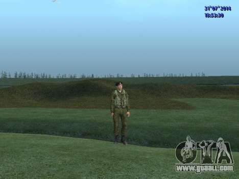 The Officer Of The Marine Corps for GTA San Andreas third screenshot