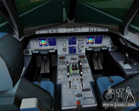Airbus A321-200 TAM Airlines for GTA San Andreas interior