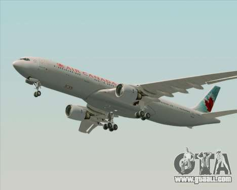 Airbus A330-300 Air Canada for GTA San Andreas side view