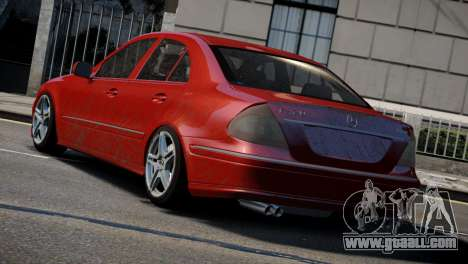 Mercedes-Benz E320 for GTA 4 back left view