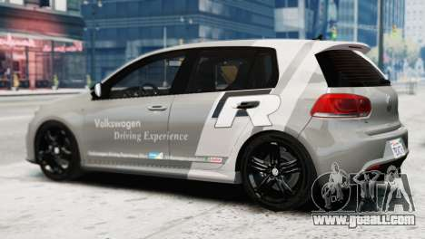 Volkswagen Golf R 2010 Driving Experience for GTA 4 left view