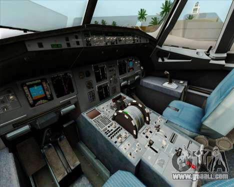 Airbus A320-232 British Airways for GTA San Andreas wheels
