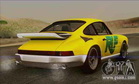 RUF CTR Yellowbird 1987 for GTA San Andreas engine