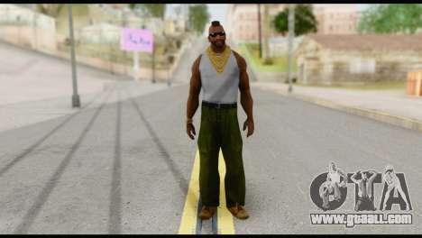 MR T Skin v4 for GTA San Andreas
