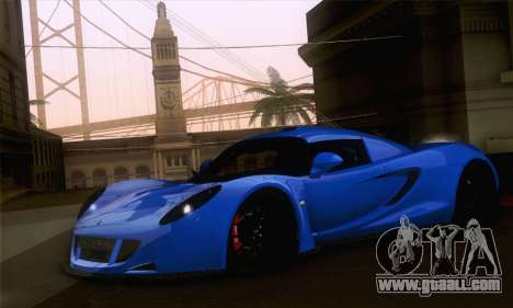 Hennessey Venom GT for GTA San Andreas left view