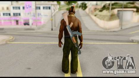 MR T Skin v5 for GTA San Andreas second screenshot