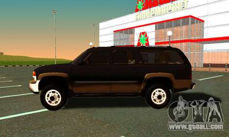 GMC Yukon XL ФСБ for GTA San Andreas right view