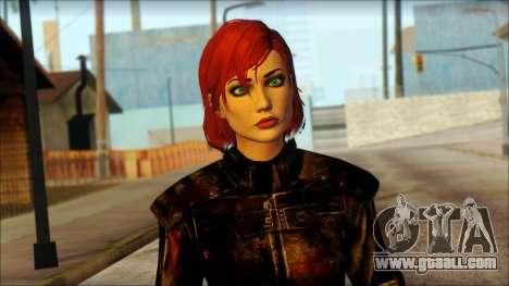 Mass Effect Anna Skin v6 for GTA San Andreas third screenshot