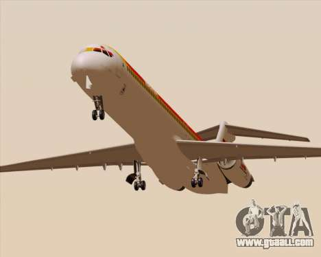 McDonnell Douglas MD-82 Iberia for GTA San Andreas inner view