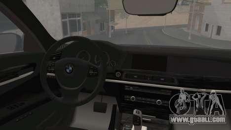 BMW F01 750Li 2009 for GTA San Andreas left view