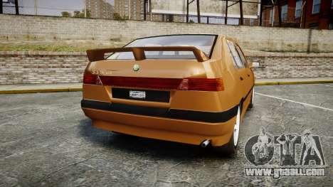 Alfa Romeo 33 1991 for GTA 4 back left view