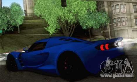 Hennessey Venom GT for GTA San Andreas back left view