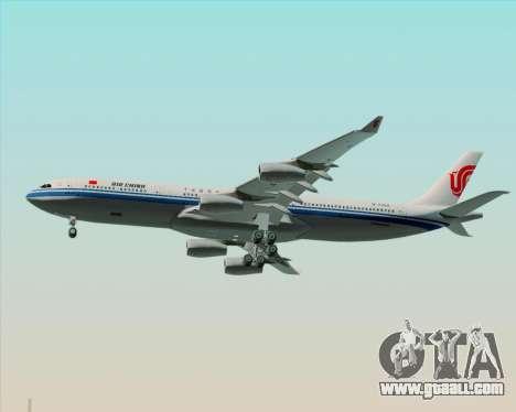 Airbus A340-313 Air China for GTA San Andreas