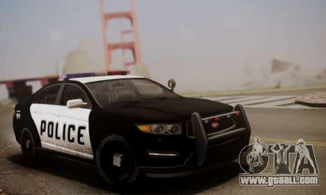 Vapid Police Interceptor from GTA V for GTA San Andreas