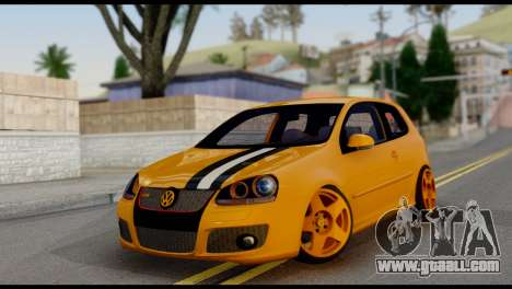 Volkswagen Golf V GTI for GTA San Andreas