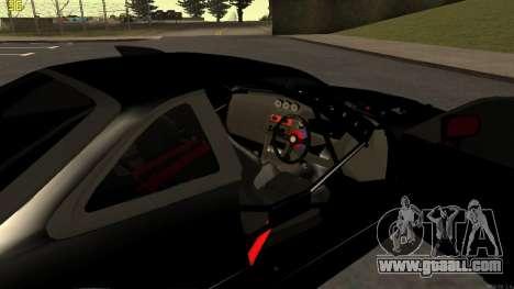 Nissan Silvia S14 for GTA San Andreas upper view