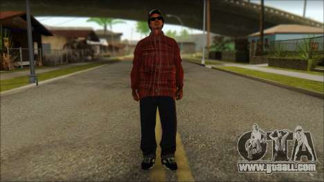Eazy-E Red Skin v2 for GTA San Andreas